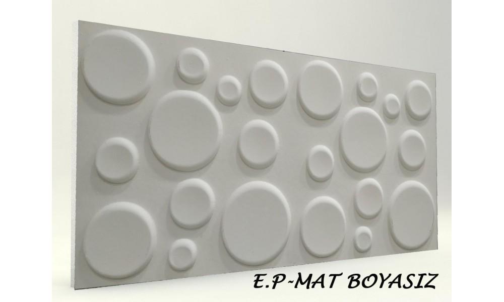 3D ELİPS PANEL BOYASIZ