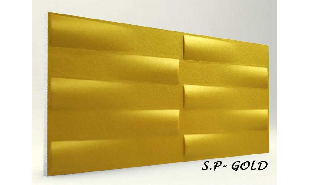 3D SİMETRİ PANEL GOLD